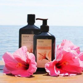 Mineral Botanic Cream Wash & Velvet Body Lotion - Hibiscus & Vijg