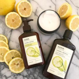 Mineral Botanic Cream Wash & Velvet Body Lotion -  Lemon & Sage