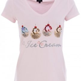 K-Design N307 t-shirt ' ice cream '